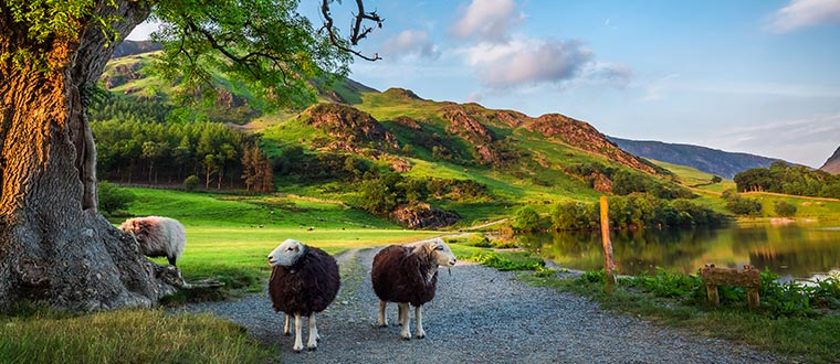Wales med Lake District
