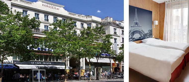 Hotel Ronceray Op�ra, Paris