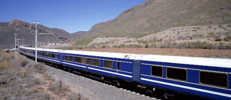 The Blue Train - T�gresa Pretoria - Kapstaden