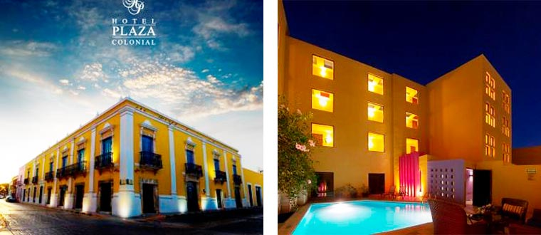 Hotel Plaza Colonial, Campeche