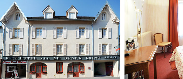 Brit Hotel au Grand Saint Jean, Beaune